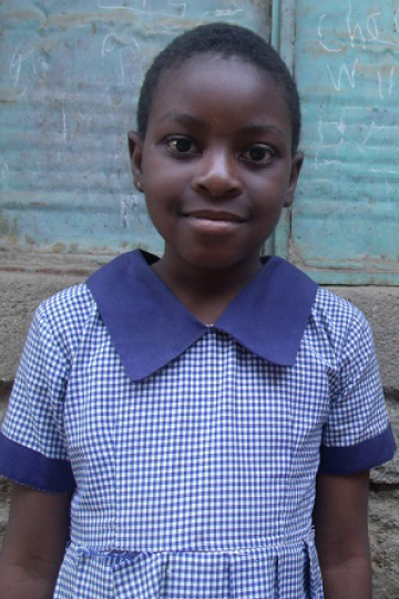 Asinthi a sponsor child in Kenya