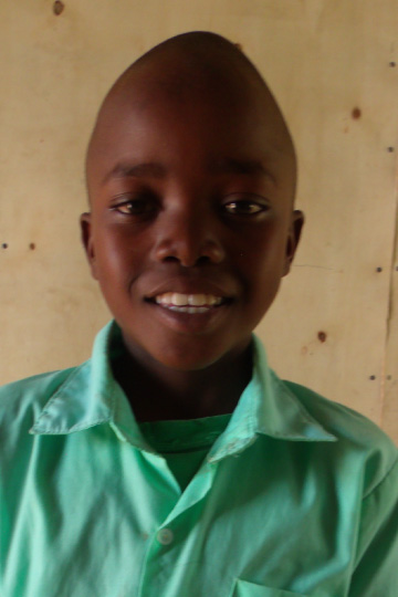 Davin a sponsor child in Kenya
