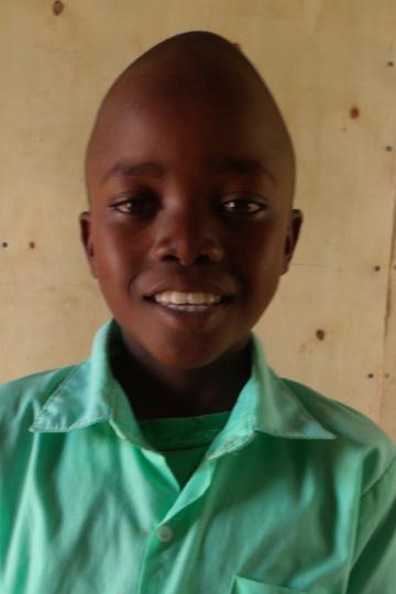 Davin a sponsor child in Kenya