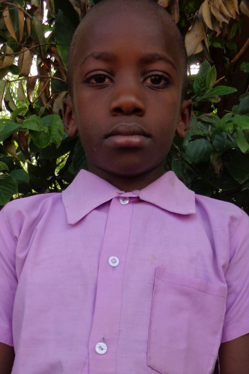 Desmond a sponsor child in Kenya
