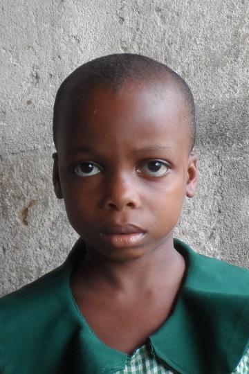 Emediong a sponsor child in Nigeria