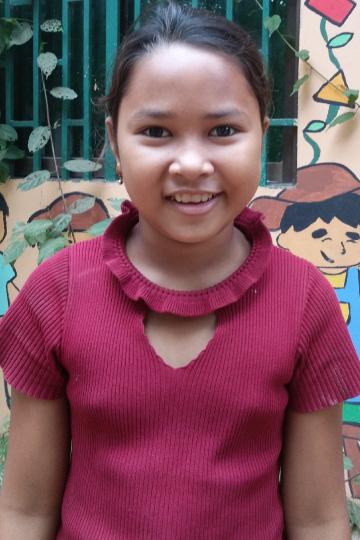 Sok Kim Sreng - Cambodian sponsor child