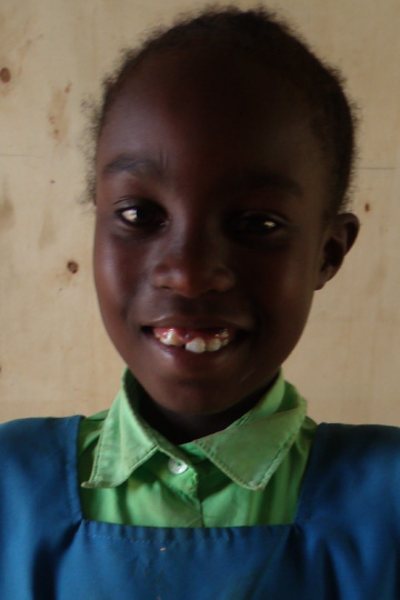 Alice Ingaiza - Kenyan sponsor child