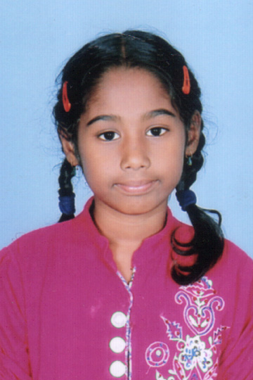 Manasa Mekala - Indian sponsor child