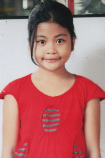 Rhonica Joy Castro - Filipino sponsor child