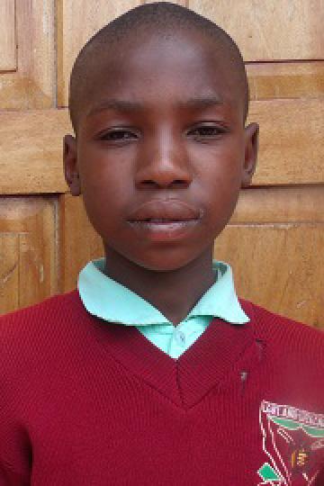 Samuel Momanyi - Kenyan sponsor child