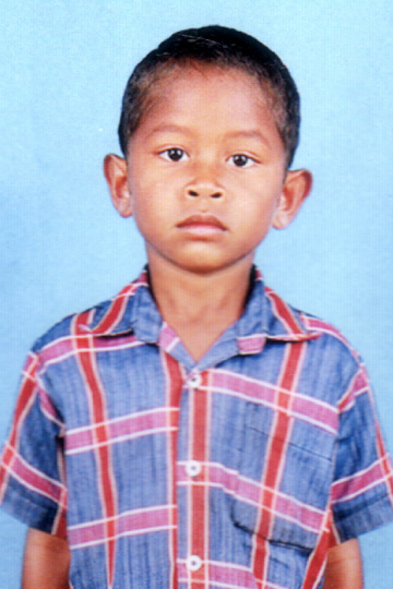 Sandeep Savara - Indian sponsor child