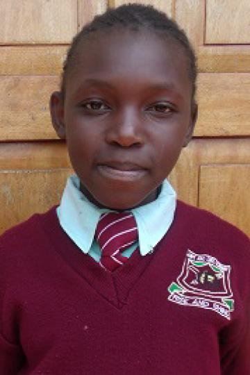 Sandra Jackline - Kenyan sponsor child